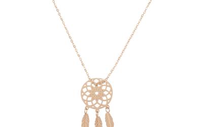 Biżuteria z motywem pióra