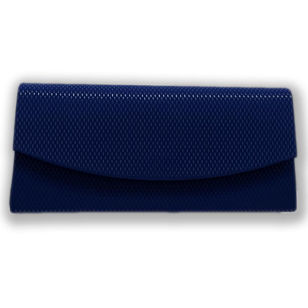 02763d718457c Niebieska chabrowa torebka kopertówka wieczorowa