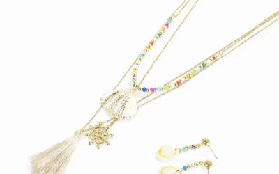 Morski styl – biżuteria z muszelkami. Modne naszyjniki i kolczyki